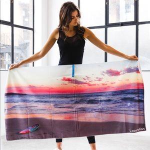 Byron Bay Design- beach and gym towel